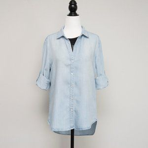Saks Fifth Avenue Chambray Button Down